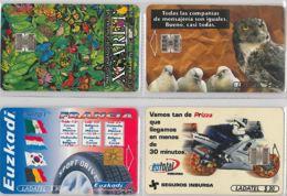 LOT 4 PHONE CARD- MESSICO (E33.39.1 - Mexico