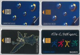 LOT 4 PHONE CARD- MESSICO (E33.35.5 - Mexico