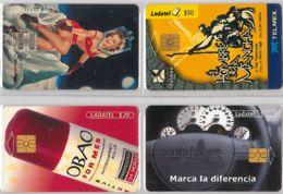 LOT 4 PHONE CARD- MESSICO (E33.41.1 - Mexico