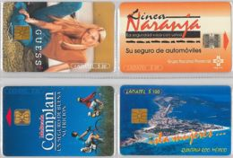 LOT 4 PHONE CARD- MESSICO (E33.40.1 - Mexico