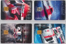 LOT 4 PHONE CARD- MESSICO (E33.37.1 - Mexico