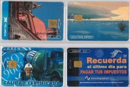 LOT 4 PHONE CARD- MESSICO (E33.43.5 - Mexico