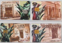 LOT 4 PHONE CARD- MESSICO (E33.30.5 - Mexico