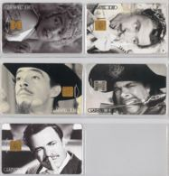 LOT 5 PHONE CARD- MESSICO (E33.33.1 - Mexico