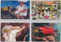 LOT 4 PHONE CARD- MESSICO (E33.34.1 - Mexico