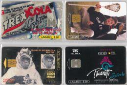 LOT 4 PHONE CARD- MESSICO (E33.39.5 - Mexico
