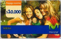 PREPAID PHONE CARD- COLOMBIA (E34.2.7 - Colombia