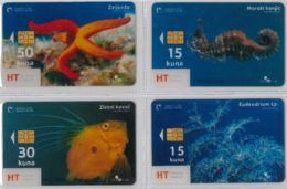 LOT 4 PHONE CARD- CROAZIA (E34.17.1 - Croacia