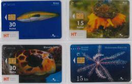 LOT 4 PHONE CARD- CROAZIA (E34.17.5 - Croacia