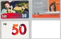 LOT 3 PREPAID PHONE CARD- CROAZIA (E34.32.1 - Croazia