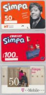 LOT 3 PREPAID PHONE CARD- CROAZIA (E34.33.1 - Croazia