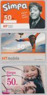 LOT 3 PREPAID PHONE CARD- CROAZIA (E34.33.2 - Croazia