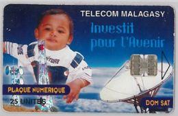 PHONE CARD - MADAGASCAR (E34.35.1 - Madagascar