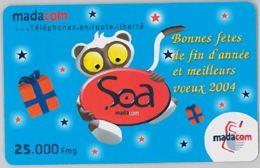 PREPAID PHONE CARD- MADAGASCAR (E34.35.8 - Madagascar