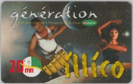 PREPAID PHONE CARD- MADAGASCAR (E34.36.6 - Madagascar