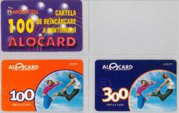 LOT 3 PREPAID PHONE CARD- MOLDAVIA (E34.38.1 - Moldavia
