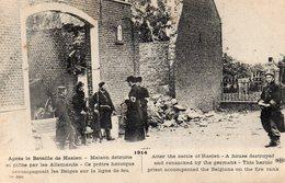 ¤ Après La Bataille De Haelen - Maison Détruite Et Pillée Par Les Allemands - Guerra 1914-18