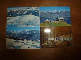 Carte Postale :HÔTEL BERGHAUS SCHÖNBÜEL-Lungern OW, Schweiz , 2011 M ü. M - Idéales Ausflugsziel- Leitung: René Minicus - Hotels & Restaurants