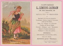 Chromo 7,50 X 11 Cm. LIEGE  Ch. LEMOINE-JAUMAIN / Parfumerie / Savons Fins. - Vieux Papiers