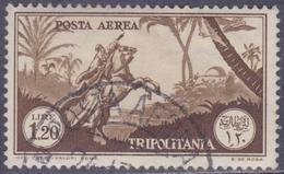 COLONIE ITALIANE TRIPOLITANIA 1931-32 PA L.1,20 Usato - Tripolitania