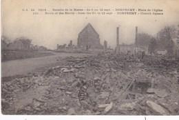 Dompremy, Place De L'Eglise, Bataille De La Marne (pk53558) - Autres Communes
