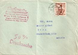 """50% Drucksache  """"Inforama, Verlag, Wien""""          1953 - 1945-.... 2a Repubblica"""