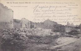 Ruines De St Etienne Au Temple, La Grande Guerre 1914-15 (pk53561) - Autres Communes
