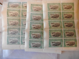 20 X BOEKJE MET NR 64 EERSTE OPLAGE POSTFRIS - 1894-1923 Mols: Nuovi