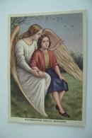 PATRONATO DELLA GIOVANE OPERA  PRO DERELITTI PADRE GUIDO      ANGELO   ANGELS    NON    VIAGGIATA COME DA FOTO - Angeli