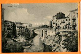 LIP700, Ivrea, Ponte Romano, Circulée 1913 - Autres Villes