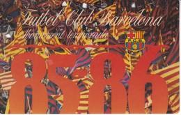 CARNET DE SOCIO DEL FUTBOL CLUB BARCELONA DEL AÑO 1985-86 GOL SUD 2ª GRADERIA (BARÇA) - Fútbol