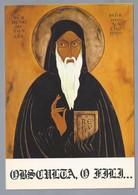 CA.- Icon Of Saint Benedict Altar At The Cistercian Abbey Oka Quebec - Kerken En Kloosters