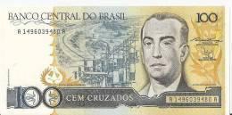 BRESIL 100 CRUZADOS  ND1986-88  UNC P 211 B - Brazil