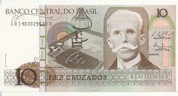 BRESIL 10 CRUZADOS ND1986-87 UNC P 209 B - Brazil