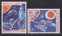 MALI AERIENS N°  271 & 272  ** MNH Neuf Sans Charnière, TB (D7877) Cosmos, Réalisations Spatiales Futures - 1976 - Mali (1959-...)