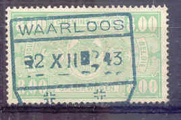F343 -België  Spoorweg Chemin De Fer Met Stempel WAARLOOS - Bahnwesen