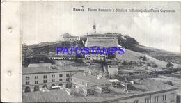 105328 ITALY ANCONA MARCA NEW SEMAFORO AND RADIOTELEGRAFICA STATION MONTE CAPPUCCINI POSTAL POSTCARD - Italie