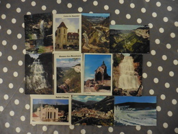 LOT  DE    11 3        CARTES POSTALES  NEUVES   DU  JURA - Cartes Postales