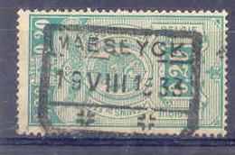 F345 -België  Spoorweg Chemin De Fer Met Stempel MAESEYCK - 1923-1941