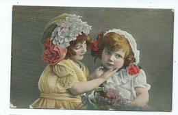 Birthday Postcard To A Friend Children - Cumpleaños