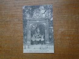Nancy , La Fontaine D'amphitrite , Par Guibal Et Cyfflé , Grille De Jean L'amour - Nancy
