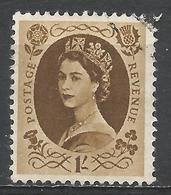 Great Britain 1958. Scott #367 (U) Queen Elizabeth II * - 1952-.... (Elizabeth II)