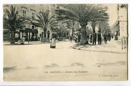 CPA 20 Ajaccio N °455 Avenue Des Palmiers L. CARDINALI - Ajaccio