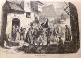 1863 DÉPART DE CONSCRITS - VILLEQUIER - MASCARET - ANNAMITE TOULON - VARENGEVILLE - DIEPPE - THÉÂTRE MEXICO - Livres, BD, Revues