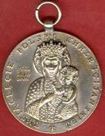** MEDAILLE  TYSIACLECIE  POLSKI  966 - 1966 ** - Religion & Esotericism