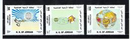 Jordanie / 1998 / Journée Mondiale Du Timbre / Série Complète ** - Jordanie
