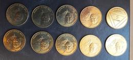 SLOVENIA  5 Tolarjev 1995  10 Pieces Jakob Aljaz UNC Commemorative Coin - Slovenia