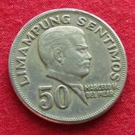 Philippines 50 Sentimos 1971 KM# 200 Filipinas Pilipinas - Philippines