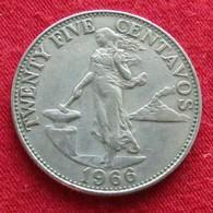 Philippines 25 Centavos 1966 KM# 189 Filipinas Pilipinas - Philippines