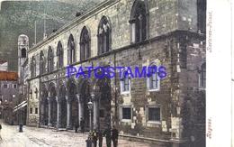 105354 CROATIA RAGUSA RECTORS PALAST CIRCULATED TO GERMANY POSTAL POSTCARD - Croatia